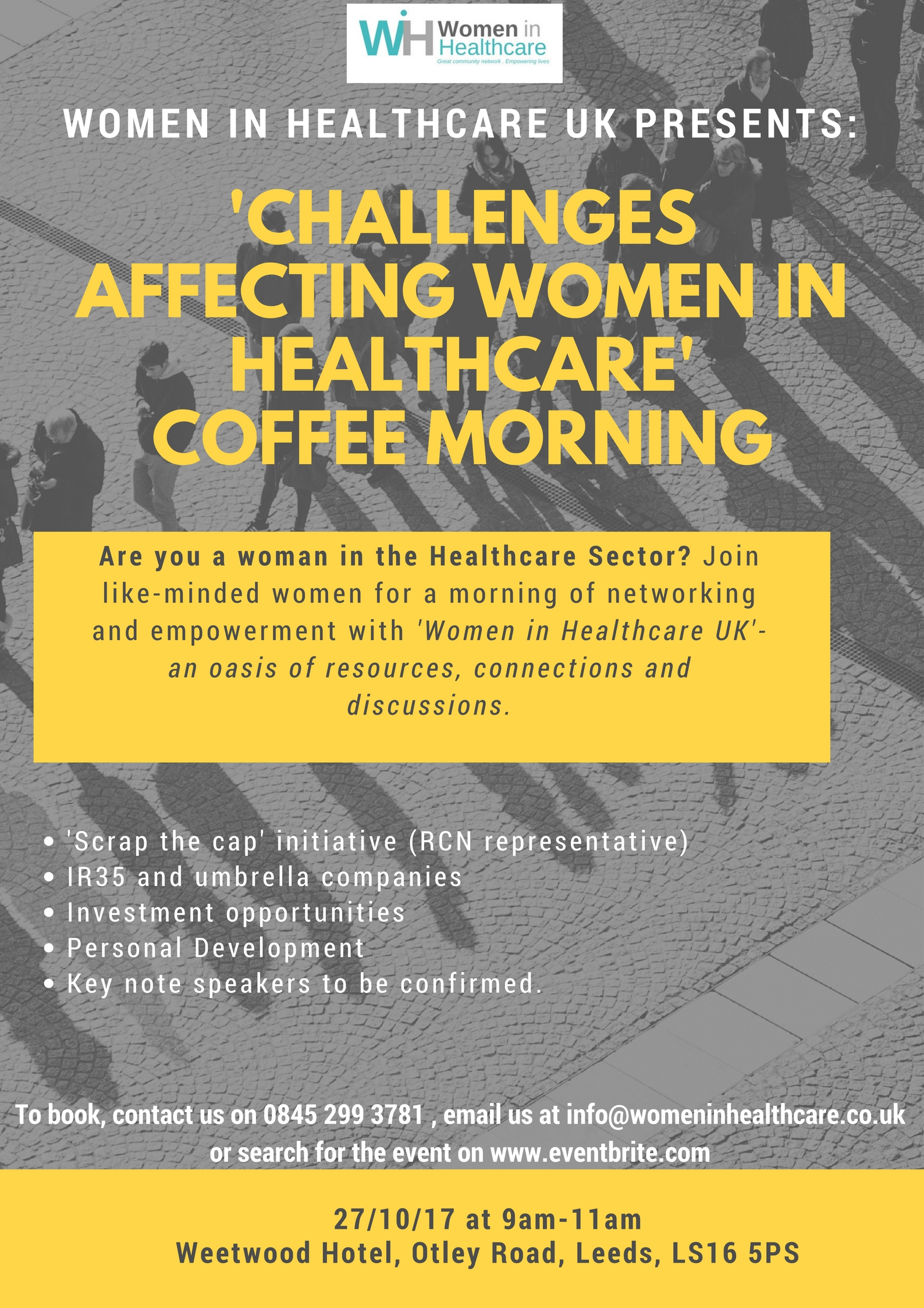 new poster for coffee morning